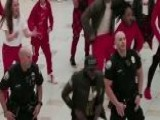 Florida Cops Shut Down, But Then Join Flash Mob At Shopping Mall