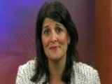 Gov. Nikki Haley In No Spin Zone