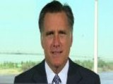 Gov. Romney: Marriage Issue Isn't About Fundraising
