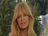 Goldie Hawn Busts Stress With Meditation