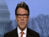 Gov. Perry On Union Presence In Texas, Gov. Christie