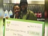 Grapevine: Couple Wins Lotto Three Times In About Two Weeks