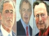 George W. Bush Reveals Portraits Of World Leaders