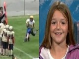 Girl Football Sensation Returns To The Field