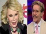 Geraldo Rivera Reacts To Joan Rivers' Hospitalization