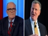 Giuliani: De Blasio Has Hard Time Getting Past His Ideology