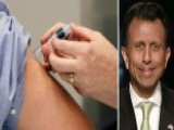 Gov. Bobby Jindal Discusses Fallout Over Vaccination Debate
