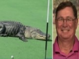 Golfer Describes Run-in With Giant Alligator On Golf Course