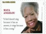 Grapevine: Misquote On Maya Angelou's Stamp
