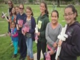 Girl Scouts Replace Flags Stolen From Veterans' Graves