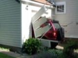 Grandpa Drives Through Garage Door As Part Of Bucket List