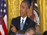 Grapevine: President Obama Gets Heckled By A Friendly Crowd