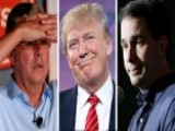 GOP Rivals Forced To React To Trump's Candidacy