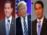 Get To Know Santorum, Trump, Walker