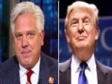 Glenn Beck Questions Donald Trump's Popularity