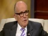Giuliani On Deadly C-130 Crash, Gun Control