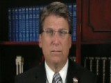 Gov. McCrory On Controversial North Carolina Immigration Law