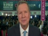 Gov. John Kasich Talks About The Energy On The Debate Stage