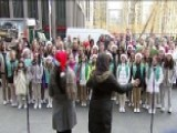 Girl Scouts Spread Christmas Cheer With Music