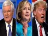 Gingrich's Take: Trump, Clinton Dominating NY Polls