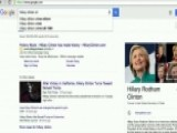 Google Accused Of Burying Negative Stories On Clinton