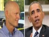 Gov. Rick Scott: President Obama Hasn't Called Me
