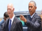 Gov. Scott Details Meeting With President Obama In Florida