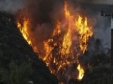 Growing Wildfires Force Hundreds To Evacuate