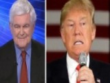 Gingrich's Take: Debate Sched Rigged Against Trump Or Dumb?