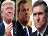Gov. Christie And Gen. Flynn Join Trump For FBI Briefing