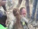 Girl Found Alive 17 Hours After Italy Earthquake