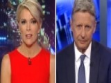 Gary Johnson Challenged Over 'Aleppo' Gaffe