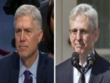 Gorsuch Pressed Over Senate Treatment Of Judge Garland