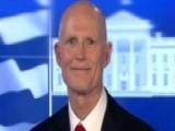 Gov. Rick Scott Talks New Bill Designed To Help Veterans