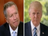 Gov. Kasich: Far Too Early To Grade President Trump