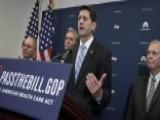 GOP Lawmakers Breathe New Life Into Healthcare Reform
