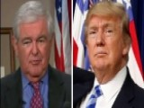 Gingrich On Media- Trump Represents The End Of Their World