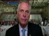 Gov. McAuliffe On Bipartisan Support Of Military, Defense