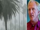 Golfing Great Greg Norman Sandblasted By Hurricane Irma