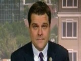 Gaetz: FBI Probe Of Clinton Did Not Follow Normal Procedures
