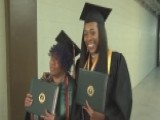 Grandmother, Granddaughter Graduate College Together