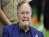 George H. W. Bush Arrives In Maine