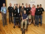 George HW Bush Shares Pancake Breakfast With Veterans