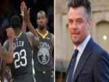 Golden State Warriors, Josh Duhamel Spat Ends In Laughter