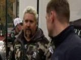 Guy Fieri Helps Bring Comfort To Camp Fire Survivors