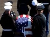 George H.W. Bush Makes Final Trip To Washington