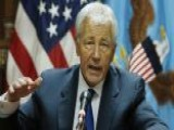 Hagel Put To Test In First Trip To Afghanistan