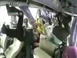 Horrifying Video Inside Bus During Deadly Crash