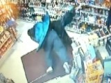 Hero Clerk Body Slams Armed Suspect In Robbery Attempt