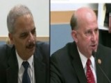 Holder, GOP Lawmaker Go At It At Hearing